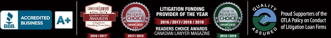 Canadian Lawyer Reader's Choice Award 2016, 2017, 2018, 2019